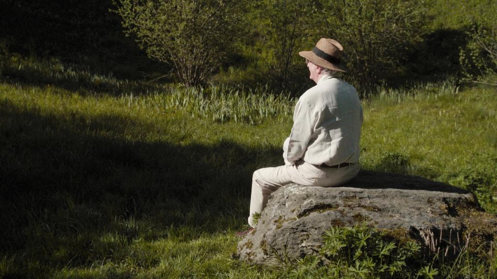 kls stille sein blick ins gruene